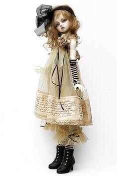 jeanoak dolls | Bellosse....Dollstown Elf 2 by jeanoak (Lililace Originals), via ...