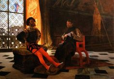 Legation of Machiavelli, citizen and secretary of Florence, Imola to meet Cesare Borgia, Duke of Valentino