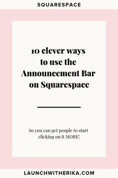 10 Avenue Blog Ideas Squarespace Design Squarespace Tutorial Squarespace Blog
