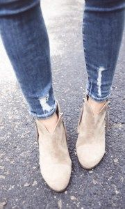 How to Wear Ankle Boots with Skinny Jeans/how to wear jeans with boots/how to wear boots with skinnies