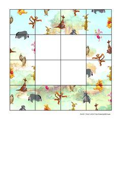 Tiles for the puzzle. Find the belonging board on Autismespektrum on Pinterest. By Autismespektrum