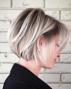 Great Short Gray Hairstyle