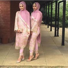 PINNED BY @MUSKAZJAHAN - Pretty in pink Intricate sequin work can create a…