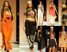 Asmita Marwa 'Moon Magic' at Lakme Fashion Week. #asmitamarwa #moonmagic #lfw