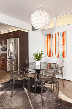 Mid Century Home Staging - modern - dining room - other metro - House & Homes Palm Springs