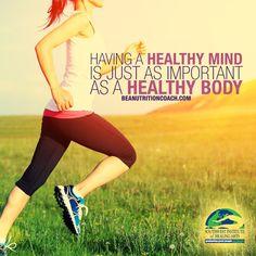 Holistic Wellness encompasses Mind, Body and Spirit. ~ BeANutritionCoach.com