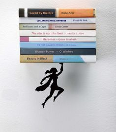 """A bookshelf that'll inspire you to plow through your tall """"to-read"""" pile. 