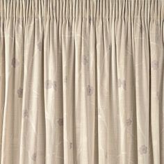 Cotton Curtains | Cottonwood Natural Cotton Pencil Pleat Ready Made Curtains
