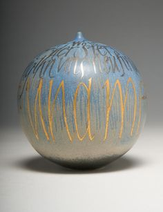 Mary White. Calligraphy collection. Porcelain. Made in 2000. Fitzwilliam Museum Collections Explorer - Object C.45-2007 (Id:157617).