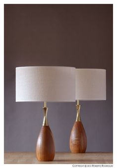 Danish Mid Century Retro Vintage TONY PAUL 50's 60's 70's Light Lamps   eBay