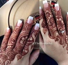 Modern and Attractive Red Mehndi Designs - Kurti Blouse Finger Henna Designs, Stylish Mehndi Designs, Dulhan Mehndi Designs, Mehndi Design Pictures, Mehndi Designs For Fingers, Beautiful Mehndi Design, Wedding Mehndi Designs, Mehndi Designs For Hands, Henna Mehndi