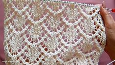 Lace Knitting Stitches, Cable Knitting Patterns, Shawl Patterns, Knitting Designs, Hand Knitting, Stitch Patterns, Crochet Patterns, Crochet Cardigan Pattern, Knit Or Crochet