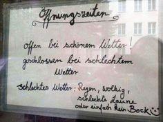 Berliner Öffnungszeiten