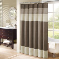 72x108 H. out of stock. Madison Park Amherst Shower Curtain