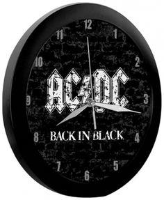 Horloge AC/DC - Back In Black
