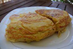 Καταπληκτική - χορταστική Ισπανική ομελέτα !!! ~ ΜΑΓΕΙΡΙΚΗ ΚΑΙ ΣΥΝΤΑΓΕΣ Cookbook Recipes, Cooking Recipes, Egg Dish, French Toast, Dishes, Breakfast, Food, Cross Stitch, Morning Coffee