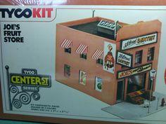 Tyco Kit JOE/'S FRUIT STORE Center St Series HO Scale # 7797 sealed box!