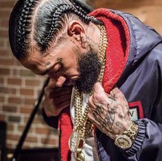 The company you keep has a large influence on the situations you bring to yourself. Lauren London Nipsey Hussle, Rapper Art, Black Art Pictures, Handsome Black Men, Hip Hop Art, Celebs, Celebrities, Black Is Beautiful, Simply Beautiful