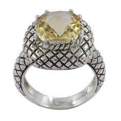 VISIT US :www.indiagems.com Citrine Gemstone 925 Sterling Silver Ring Size 9 Jewelry
