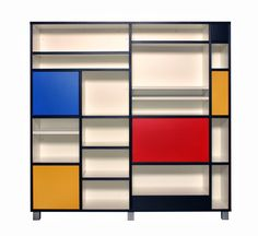 Lucky Victorians often seem to get the best of what Australian design has to offer, and this colourful and clever bookcase-cum-storage unit...