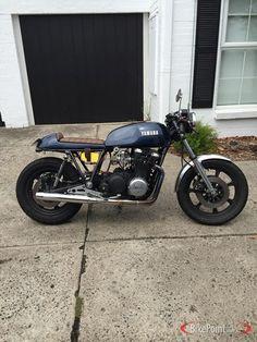 1979 Yamaha XS1100 Yamaha Cafe Racer, Cafe Bike, Cafe Racers, Bobber Motorcycle, Motorcycles, Yamaha Xs1100, Custom Cafe Racer, Cool Bikes, Motorbikes