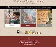 Muro dell'Arte: Notre site internet!!!