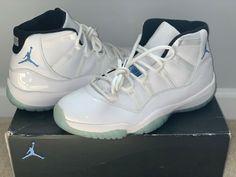 pretty nice d5b4a 2d33a 2014 Nike Air Jordan Retro 11 Legend Blue Columbia Size 12 378037-117