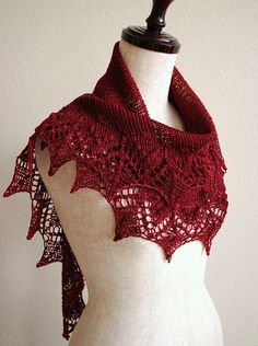 Annis by Susanna IC, knitted by knittimo | malabrigo Sock in Tiziano Red