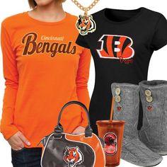Cute Cincinnati Bengals Fan Gear