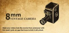 Vintage 8mm Video Camera 1.8 APK Free Download - Free APK Android Games And Applications