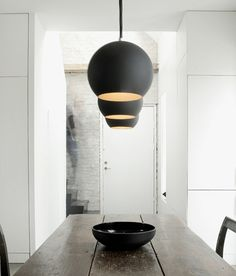 LOVE THESE LIGHT FITTINGS  Humlebaek House by NORM