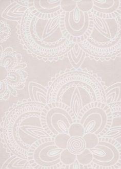 Lumikide wall paper by Ritva Kronlund Textile Patterns, Print Patterns, Pattern Paper, Stencils, Sweet Home, New Homes, Flooring, Wallpaper Ideas, Interior Design