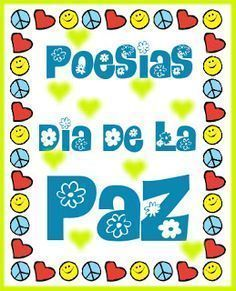 Actividades para Educación Infantil: Poemas sobre la Paz Peace Crafts, Special Day, Religion, Education, School Kids, Google, Children's Literature, Peace Poster, Emotions Activities