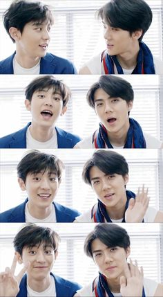 Chanyeol and Sehun | [CAP] CeCi August 2015 Issue