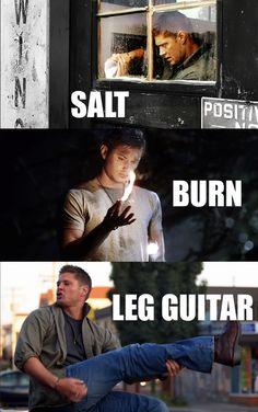Salt, Burn...