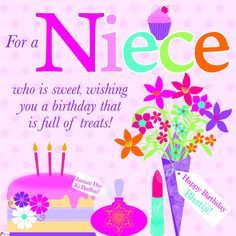 Lovely happy birthday wishes card for niece stunning simplicity birthday wishes for niece happy birthday niece quotes m4hsunfo