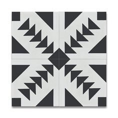 Mosaic Tadla Black and White Handmade Moroccan 8 x 8 inch Cement and Granite Floor or Wall Tile (Case of 12) (Atlas Black and White) Kitchen Remodel, Bath Remodel, Morocco, Cement Tiles, Wall Tiles, Granite Flooring, Moroccan Tiles, White Patterns, Decorative Tile