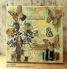Kath's Blog......diary of the everyday life of a crafter: Simon Says...Things With Wings