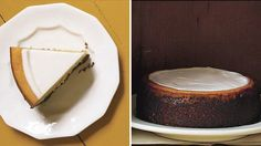 Pumpkin Cheesecake with Marshmallow-Sour Cream Topping and Gingersnap Crust Recipe