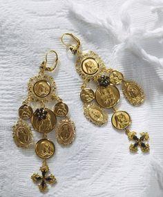 Dolce & Gabbana Chandelier Earrungs