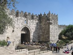 The Damascus Gate.