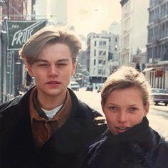 Leonardo DiCaprio and Kate Moss... such a gem!