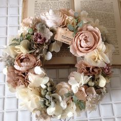 Love the colors Dried Flower Wreaths, Fall Wreaths, Dried Flowers, Christmas Wreaths, Ribbon Wreaths, Floral Wreaths, Burlap Wreaths, Door Wreaths, Wreath Crafts