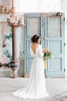 Modern + Fresh Industrial South Carolina Wedding