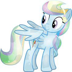 Crystal Rainbow Dash by TheShadowStone on deviantART My Little Pony Twilight, My Little Pony List, My Lil Pony, My Little Pony Friendship, Rainbow Dash, Crystal Ponies, Little Poni, Mlp Fan Art, Mlp Pony