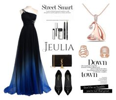 """""""Smart desgin"""" by mell-2405 ❤ liked on Polyvore featuring Yves Saint Laurent, Bobbi Brown Cosmetics, women's clothing, women, female, woman, misses, juniors, Silver and jewelry"""