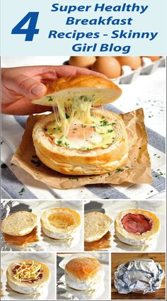 Breakfast is one of the vital meal of your daily eating, we need to avoid some carb foods here, discover 4 Super Healthy Breakfast Recipes.