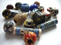 Ethnic bead mix by allthatglittersbeads on Etsy, $1.99