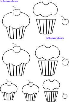 Molde do dia: cupcake com café