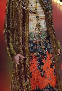 christian lacroix, combing color, texture, line, form, and prints  in such an effortless way.  #mizustyle